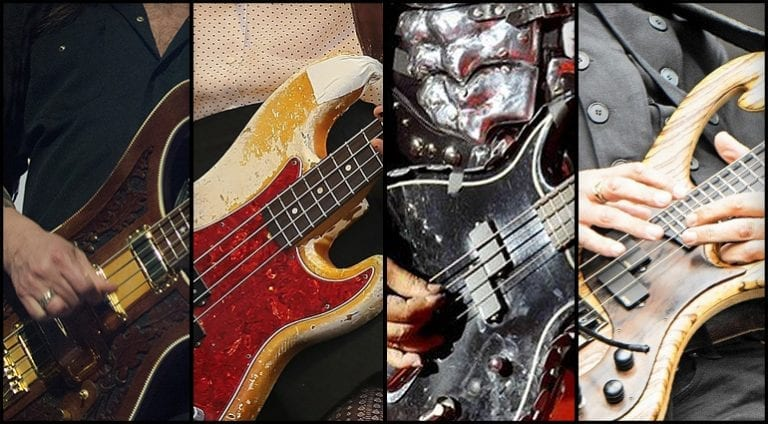 Quiz -Identify the bassist by their bass!