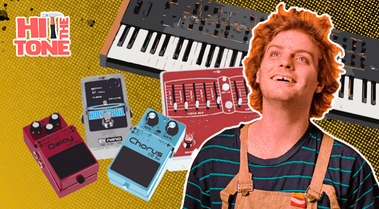 Hit The Tone! Mac Demarco & his gadgets