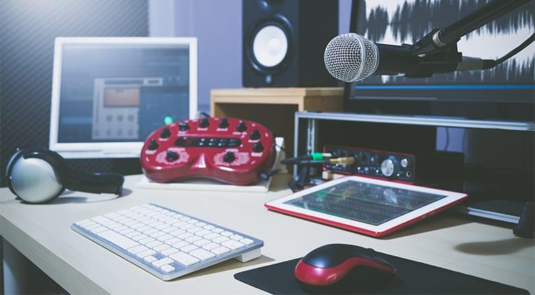 Tonstudio günstig einrichten – unsere Tipps  t.blog