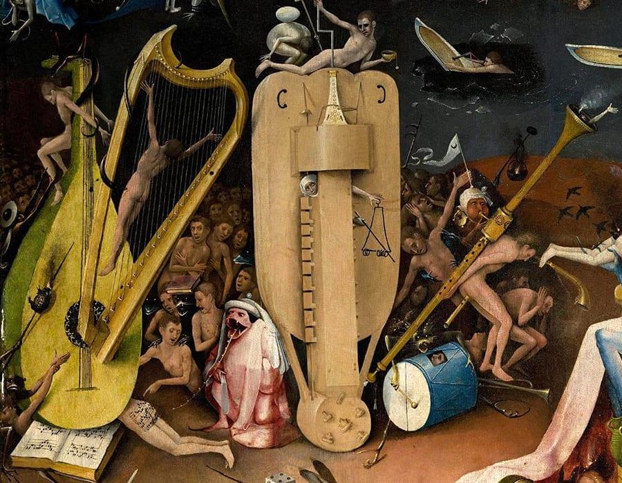 Hieronymus Bosch\u0027s Butt Music