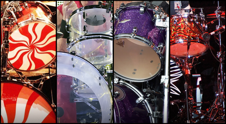 Quiz - Identify the drummer by their drums