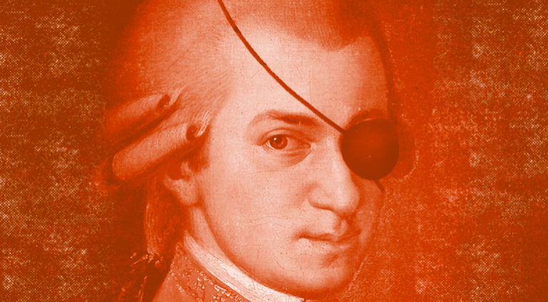 Was Mozart the first music pirate?