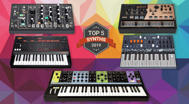 Top 5 Synthesizers of 2019