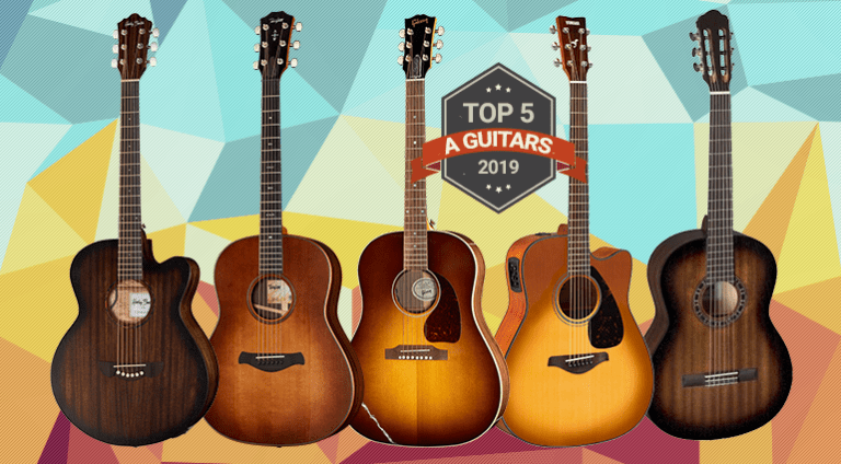 Top 5 Acoustic Guitars of 2019