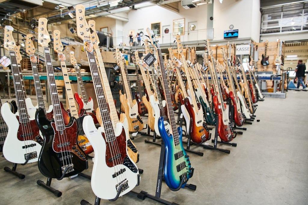 Gitarren Flohmarkt bei Musikhaus Thomann