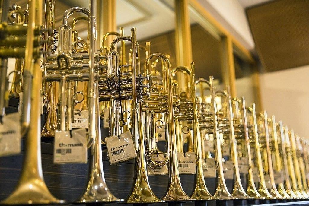 Trompeten Blasinstrumente Musikhaus Thomann Treppendorf