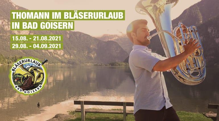 Thomann bläserurlaub österreich urlaub blasinstrumente