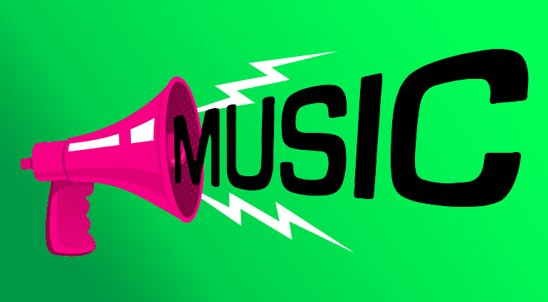 Gründe Musik zu machen Music Megaphon