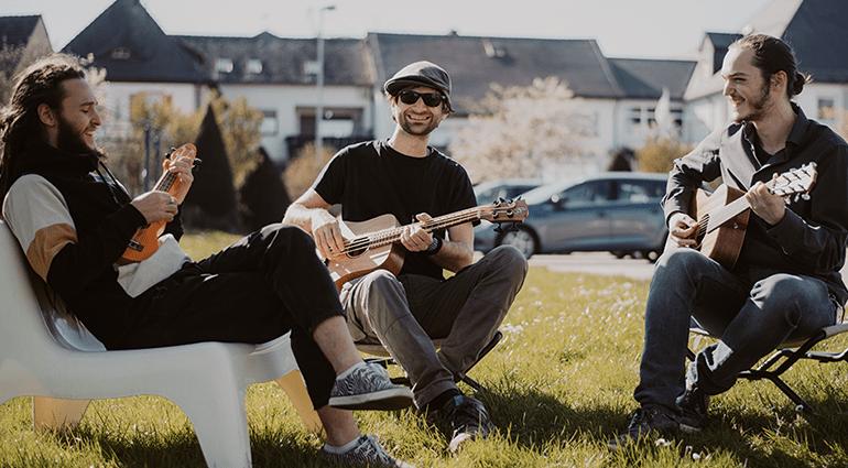 Musik Gitarre Thomann Musik machen Treppendorf