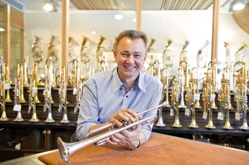 Hans Thomann, Geschäftsführer von Musikhaus Thomann