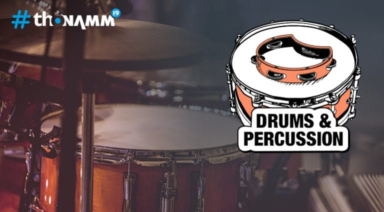 NAMM 2019 Drums & Percussion coverage