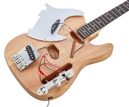 photo of Tele Guitar D I Y Kit