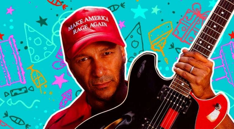 Tom Morello - restless guitar hero