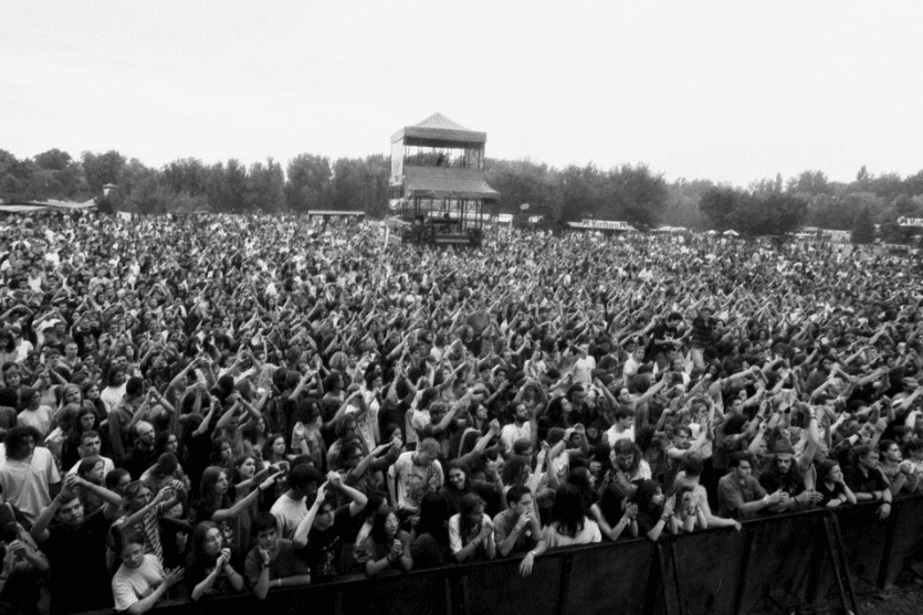 Sziget in the '90s