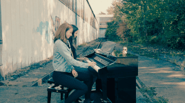 The piano girl knows how to fuck you