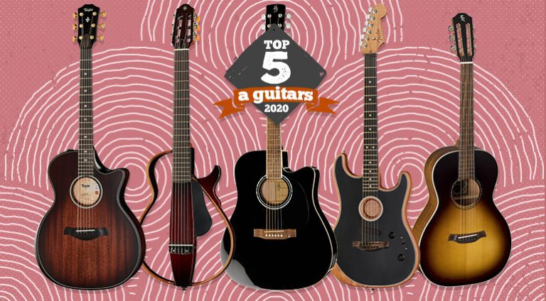 Top 5 Acoustic Guitars of 2020