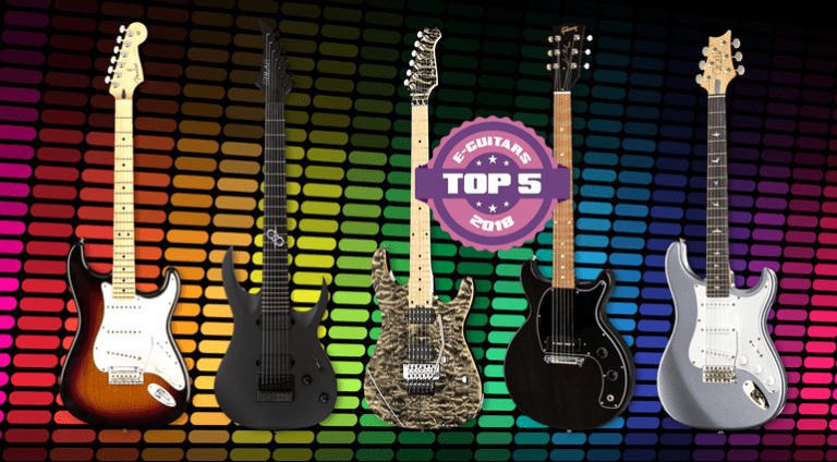 Top 5 Electric Guitars of 2018