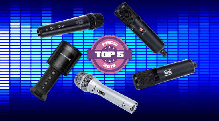 The Top 5 Microphones of 2018