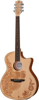 Luna Guitars Henna Oasis Spruce w/Case
