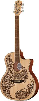 Luna Guitars Henna Paradise S