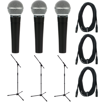 Shure SM 58 Triple Bundle