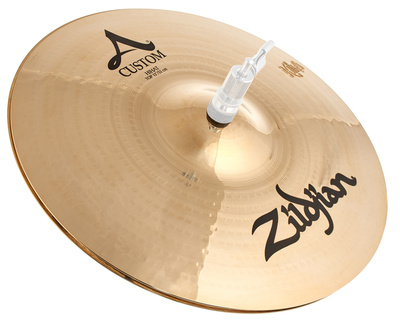 "Zildjian 13"" A-Custom Hi-Hat Brilliant"