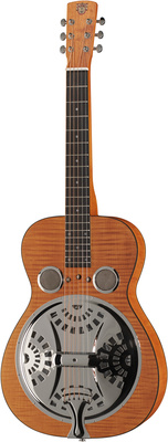 Dobro Hound Dog Deluxe Square Neck