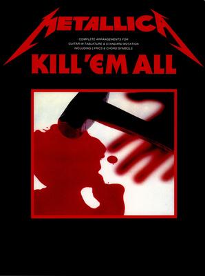 Music Sales Metallica Kill 'em All