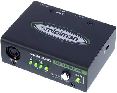 M-Audio MIDISport 2X2 AE USB B-Stock