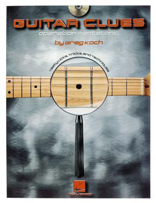 Hal Leonard Greg Koch Guitar Clues