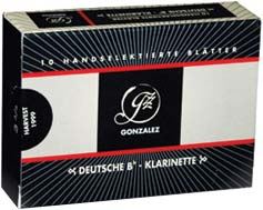 Gonzalez Clarinet 3,75 Reed German