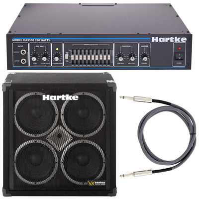 Hartke 3500 & VX410 Bundle