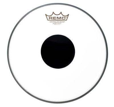 "Remo 14"" CS White Smooth"