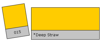 Lee Colour Filter 015 Deep Straw