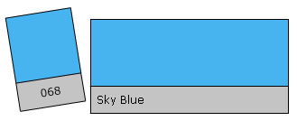 LEE Colour Filter 068 Sky Blue