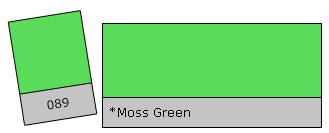 LEE Colour Filter 089 Moss Green