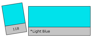 LEE Colour Filter 118 Light Blue