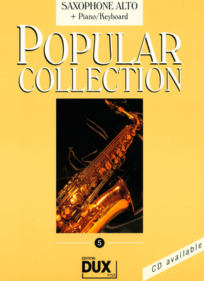 Edition Dux Popular Collection 5 (A-Sax+P)