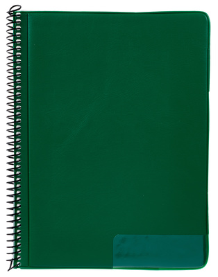 Star Marching Folder 245/10 Green