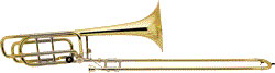 Bach LT 50B3OG Bb/F/Gb-Bass Tromb