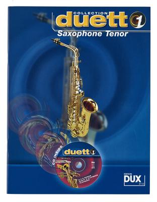 Edition Dux Tenor Saxophone Duett 1