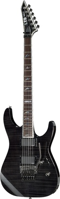 ESP LTD M-1000FM See Thru Black