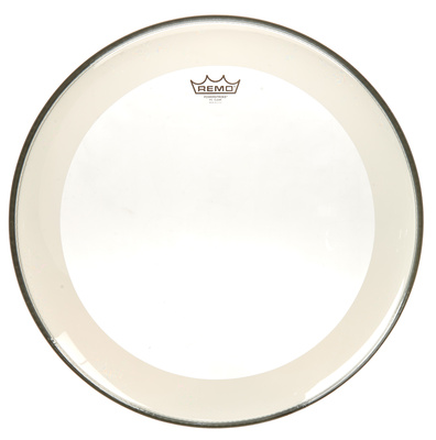 "Remo 20"" Powerstoke 4 Clear Bass"
