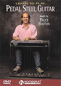Homespun Learn Pedal Steel Guitar (DVD)