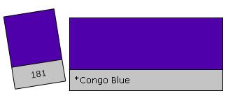 LEE Colour Filter 181 Congo Blue