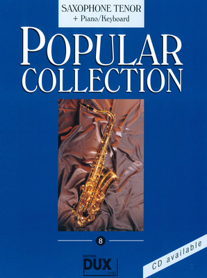 Edition Dux Popular Collection 8 T-Sax+P