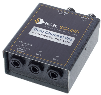 K&K Dual Channel Pro Pream B-Stock