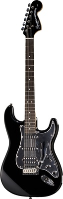 Fender Squier FatStrat Black & Chrome