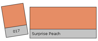 Lee Colour Filter 017 Surpr. Peach