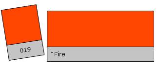 Lee Colour Filter 019 Fire